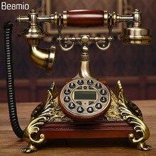Новый Высокого класса Старинные Антикварные Телефоны Европейский Телефон Стационарный Телефон RetroTelephone Telefono Fijo Для Домашнего Офиса