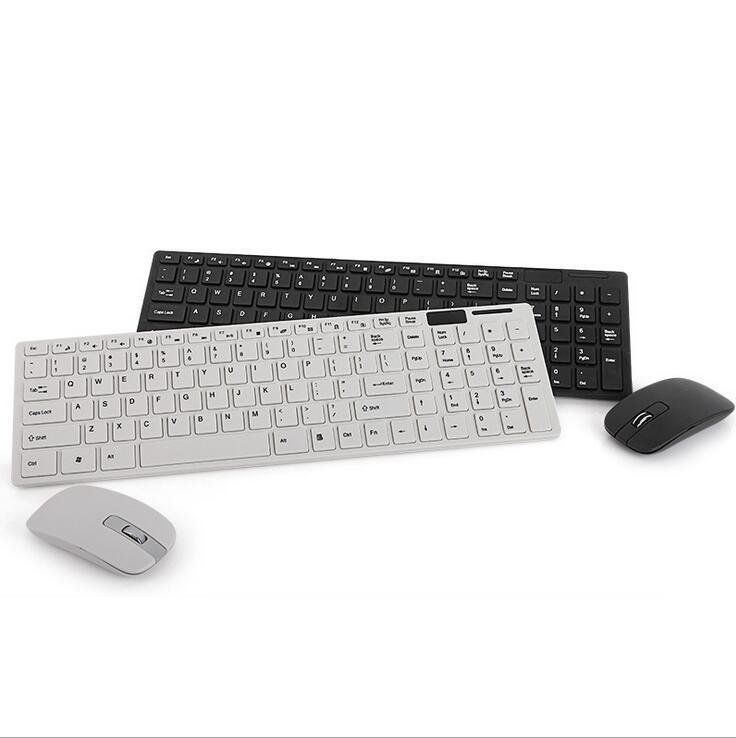 Draadloze 2.4G Ultradunne USB-ontvanger Desktoptoetsenbord en - Computerrandapparatuur - Foto 4
