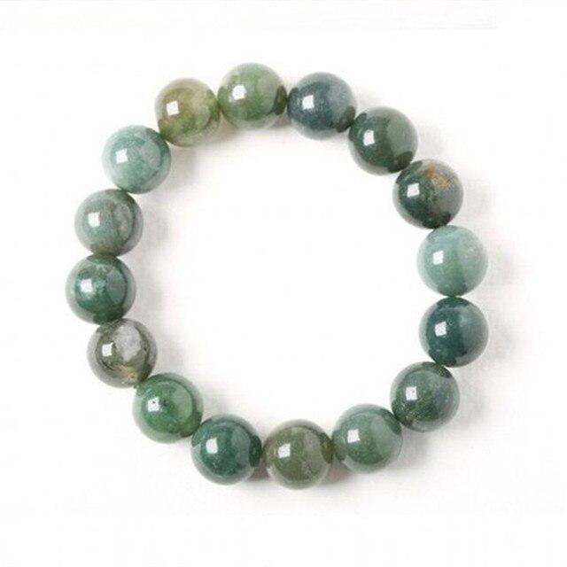 Bracelet Jaspe Vert Pour Femme 2