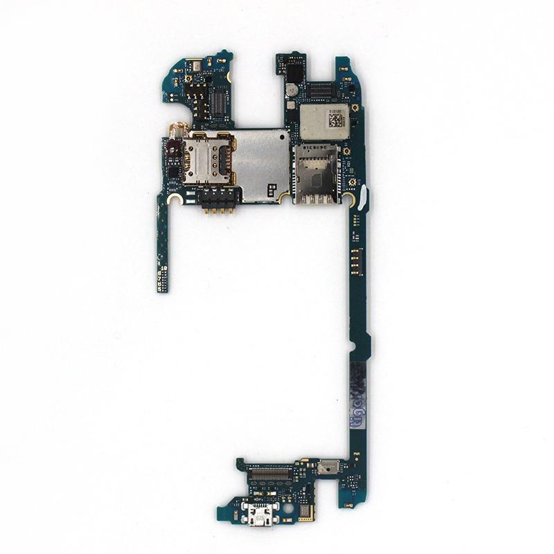 Tigenkey 100 % Unlocked 32GB Work For LG G4 H818 Mainboard Original For LG G4 H818 32GB Motherboard Test 100% & Dual Simcard