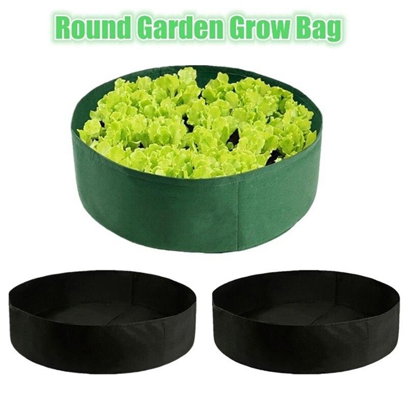 15/50/100 Gallon Fabric Grow Bags Breathable Pots Planter