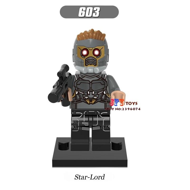 50pcs starwars Star-Lord Guardians of the Galaxy building blocks bricks friends for Gift children toy brinquedos menina