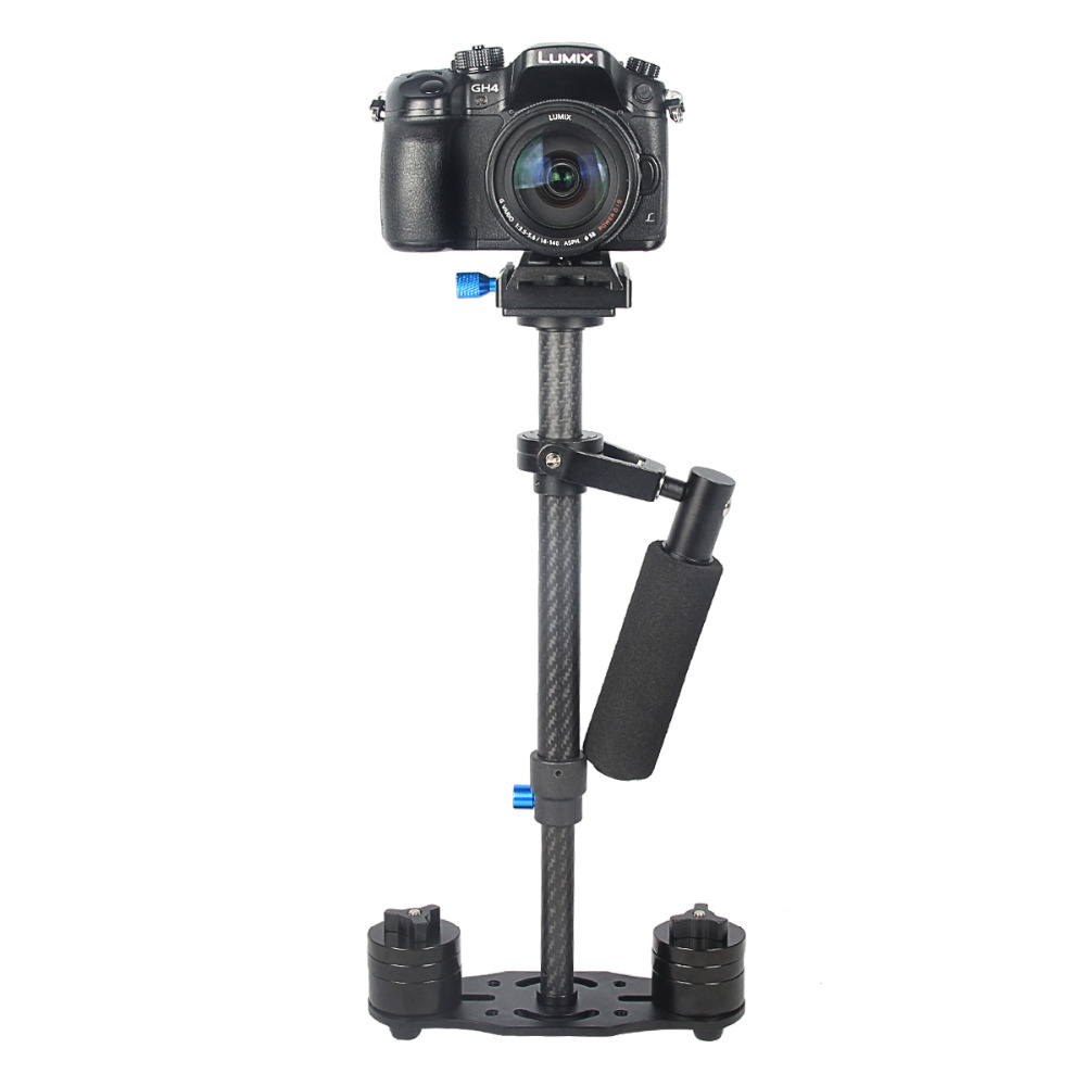 High Quality S40T 40cm Canbon Fiber Handheld Stabilizer Steadicam for Camcorder Camera Free Shipping by DHL stabilizer shield free shipping high quality new 7 18v stabilizer shield free shipping expansion board for arduino blue