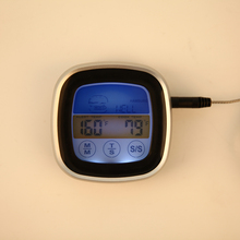 Sale Colorful Touch Screen Digital Food Thermometer Meat Oven Probe BBQ Kitchen Cooking Thermometer
