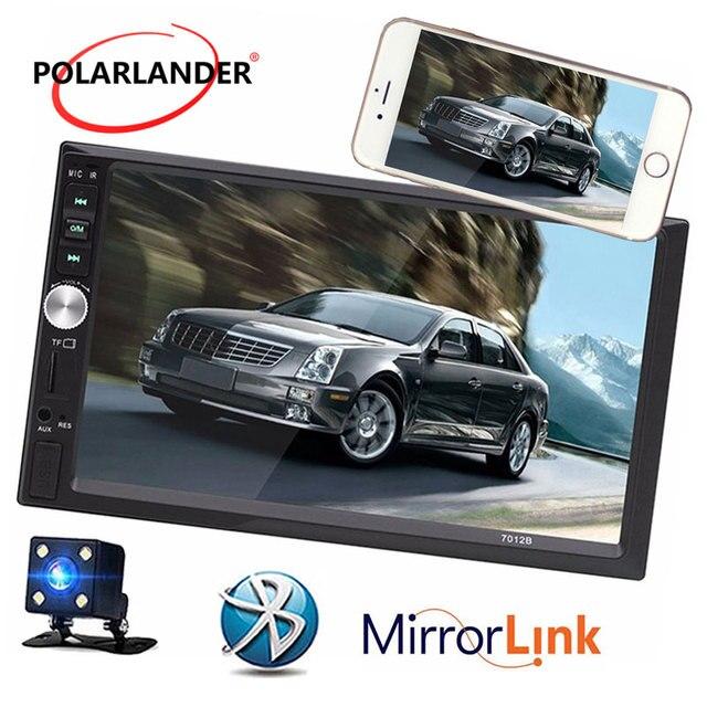 7 inch car radio Mirror Link 12V Bluetooth Car Radio MP5 Player Stereo FM/MP3/Audio USB SD AUX Auto Electronics In Dash 2 DIN