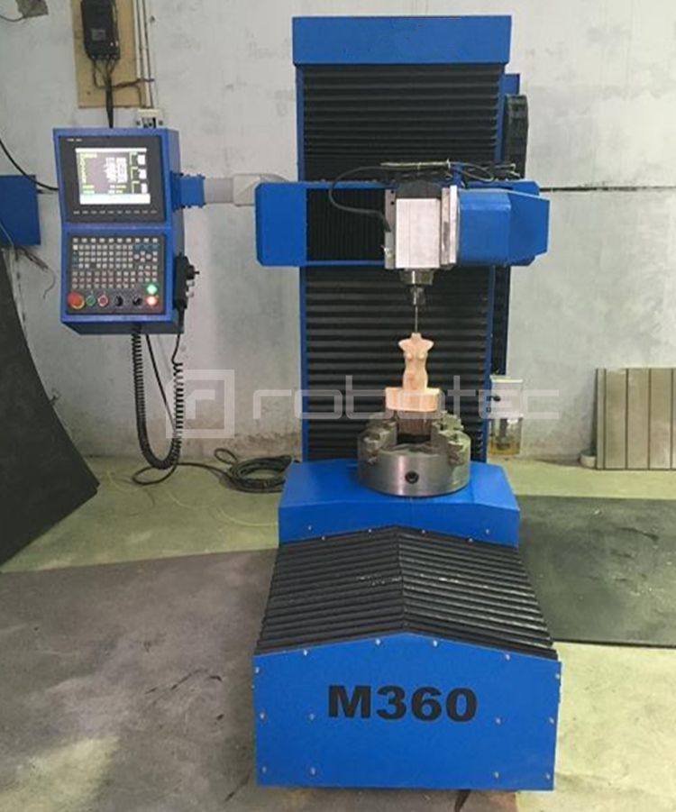 Chinese Factory Mini Cnc 5 Axis Router/ 5 Axis 3d Cnc Carving Machine For Foam Wood Stone
