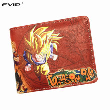 Dragon Ball Z Anime Faux Leather Wallets