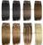 10 pçs/set 200g 26 cores disponíveis Frete Grátis GROSSO Cabeça Cheia remy Grampos de Cabelo Humano Brasileiro de seda macia Em/em Extensões