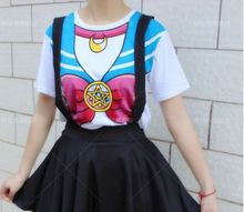 Sailor Moon Crystal Bowknot T-Shirt