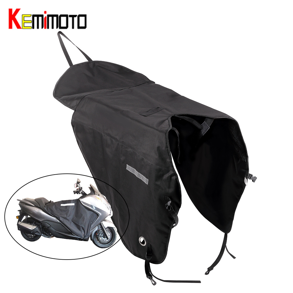 KEMiMOTO Leg Cover For Motorcycle Blanket Knee Warmer Rain Wind Protection Windproof Waterproof Winter Quilt For