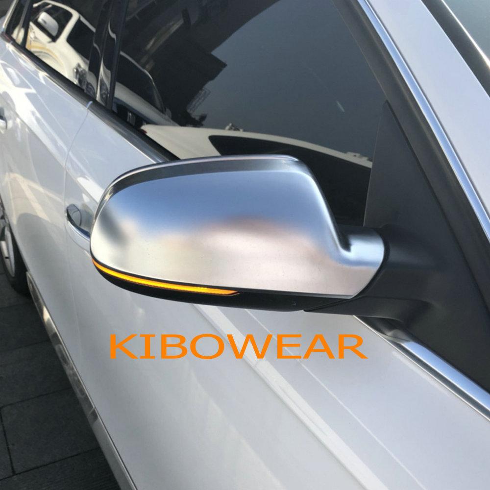 Kibowear per Audi A3 8 p RS5 RS4 RS3 Sequenziale che scorre LED Indicatori di Direzione A4 A5 S5 B8.5 Lato Dinamico luci specchio indicatore