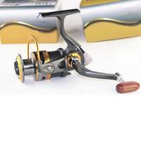 Vendita calda Mulinello Serie 2000 11BB 5.2: 1 Cuscinetti A Sfera Fishing Spinning Reels Acqua Salata Rock Fishing Pesce Linea ruota