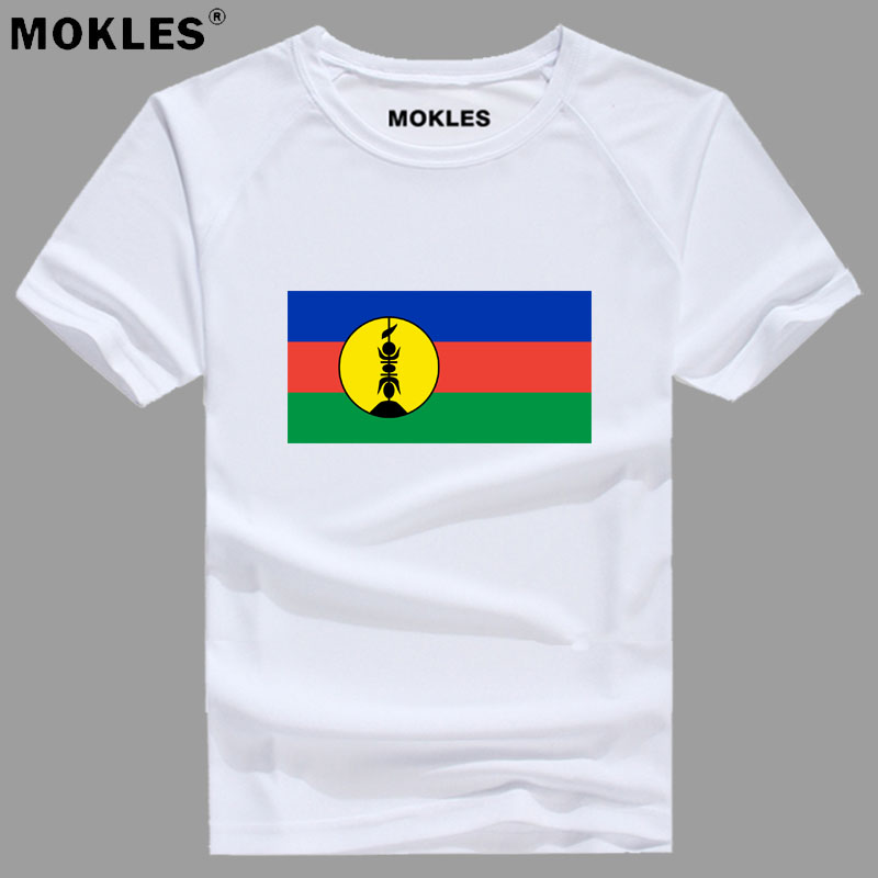 NEW CALEDONIA t shirt diy free custom made name number ncl t-shirt nation flag nc french country college logo photo text clothes