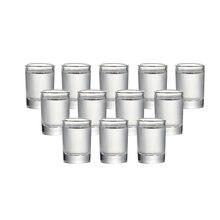 Набор из 12 свинца стеклянные рюмки фабричного производства Стакана Ликера для дух напитки вадька baijiu 15 мл