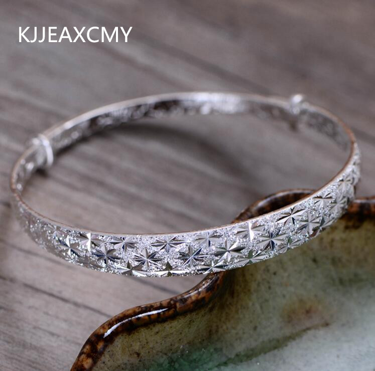 994b97aa1cd6 Kjjeaxcmy tailandés joyería de plata al por mayor 999 pulsera de plata  esterlina modelos femeninos libre simple estrellas - a.dupa.me