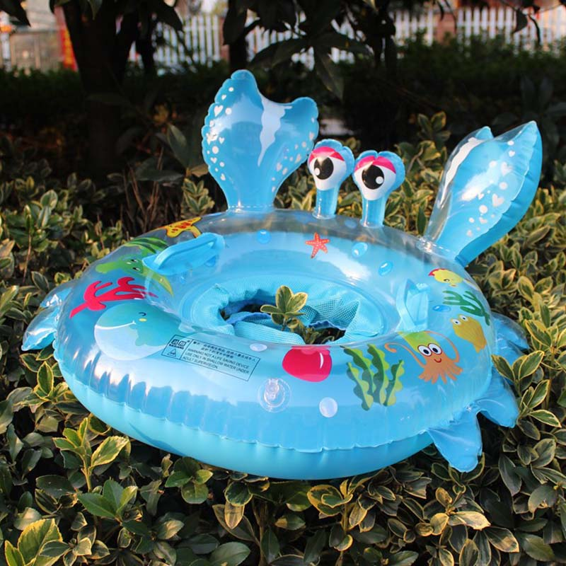Baby Children Swimming Float Ring Kids Toddler Inflatable Pool Swim Infant Crab Seat YS-BUY