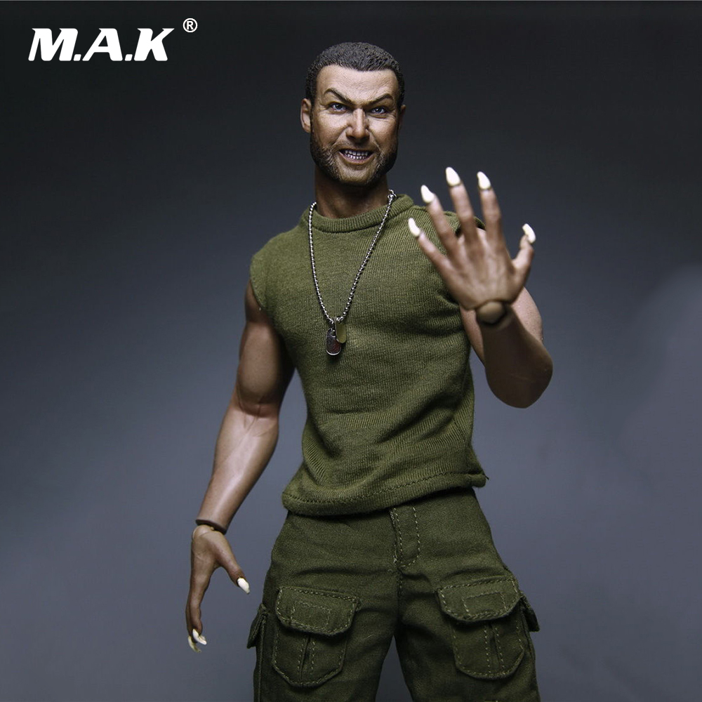 1/6 Scale Wolverine Brother Saber-Toothed Tiger Victor 12 inchces Full Set Action Figure Model Toys for Collection 1 6 scale full set male action figure kmf037 john wick retired killer keanu reeves figure model toys for gift collections