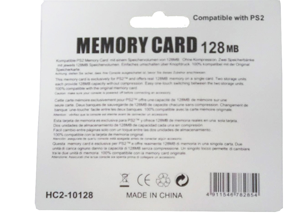 US $6 0  Aliexpress com : Buy Brand New 128MB memory card for PS2 video  game console PlayStation 2 FreeShipping from Reliable card card suppliers  on