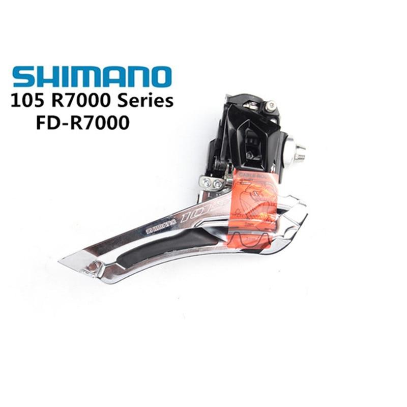 Shimano 105 2x11 FD-R7000 5800 5801 Frente Desviador Bicicleta Velocidade Frente Desviador 5800 R7000 Braze on 31.8 MILÍMETROS 34.9 MILÍMETROS Braçadeira Banda