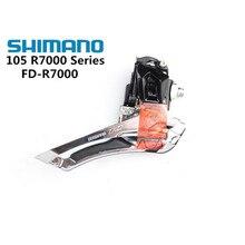 Shimano 105 FD R7000 5800 5801 Trước Derailleur 2X11 Tốc Độ Xe Đạp Trước Derailleur 5800 R7000 Braze Trên 31.8 Mm 34.9 Mm Kẹp Ban Nhạc