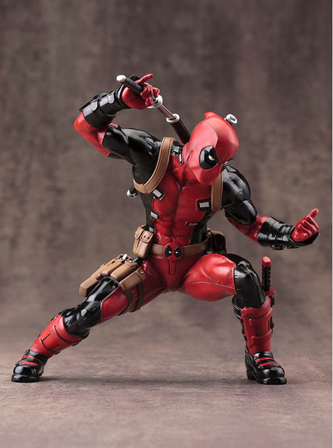 Super Hero X-Men Deadpool PVC Action Figure Collectible Model Toy 20cm KT2398
