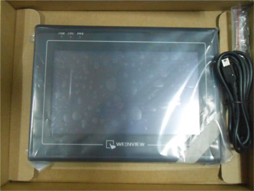 MT6070iH : New Weinview Touch Screen 7 inch HMI MT6070iH 3wv with programming cable and software, Fast shipping mt6070t mt6070ih mt6070ih2 touch screen lcd screen
