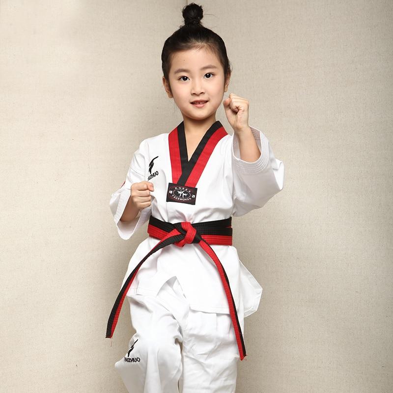 10pcs Lot Children Kids Taekwondo Uniform 100 Cotton