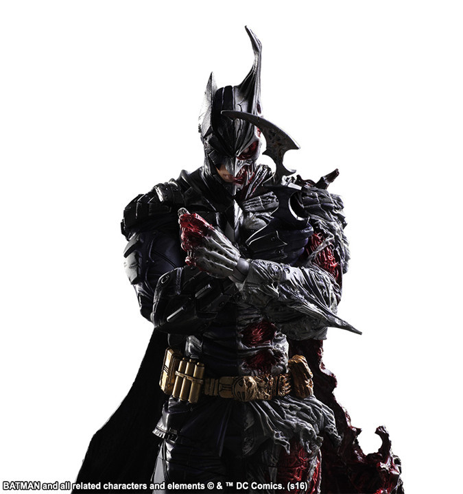SAINTGI play arts Batman v Superman Two-Face Dawn of Justice Superman Action Figure DC Super Heroes PVC 27CM Collection Kids Toy saintgi play arts the flash spartans batman v superman dawn of justice arkham dc pvc 25cm action figure collection model toy