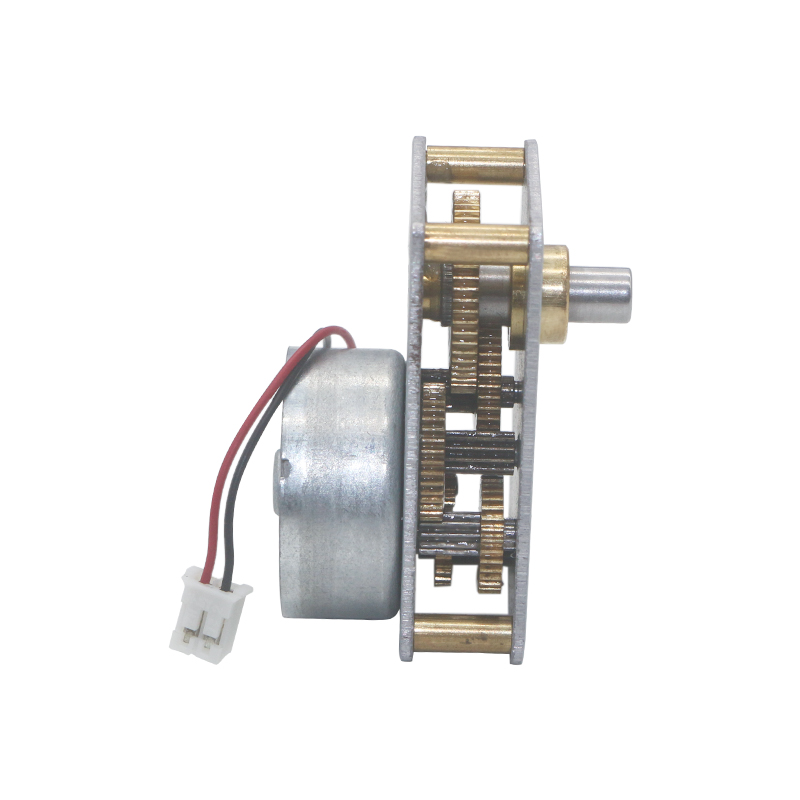 Flat Gearbox High Torque Gear Motor 3v 12v Low Speed Noise Micro Metal Motor Reductor Reversible CW CCW Hard Metal Gear Motors in DC Motor from Home Improvement