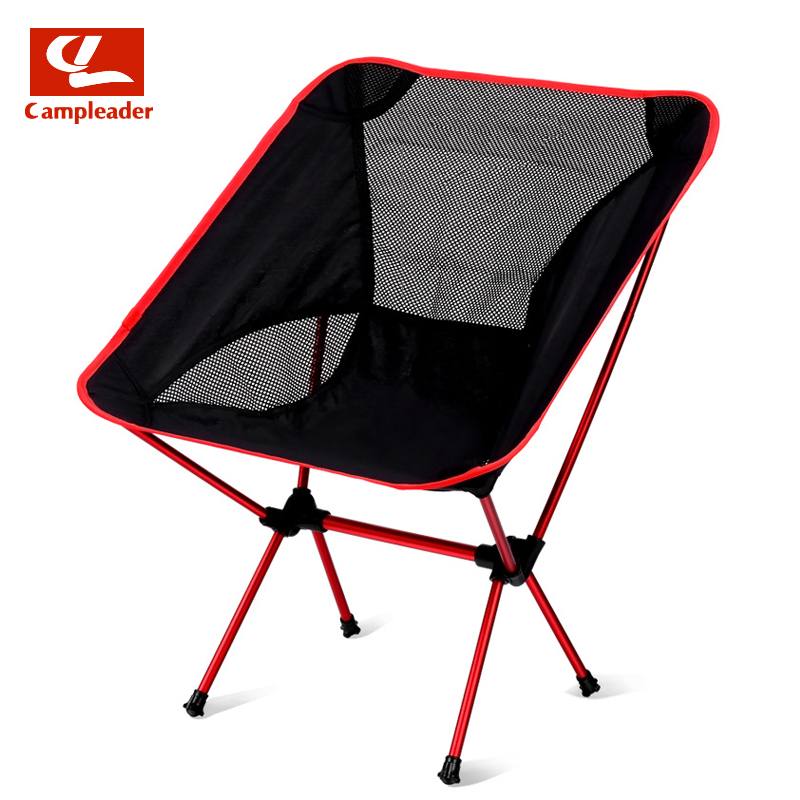 Campleader Outdoor Fishing Chair Barbecue Painting Portable Backrest Chair Folding Chair Camping Beach Stool CL189 playking folding chair bag fishing chair outdoor camping portable travel folding stool chair bag cycling beach trekking c1314
