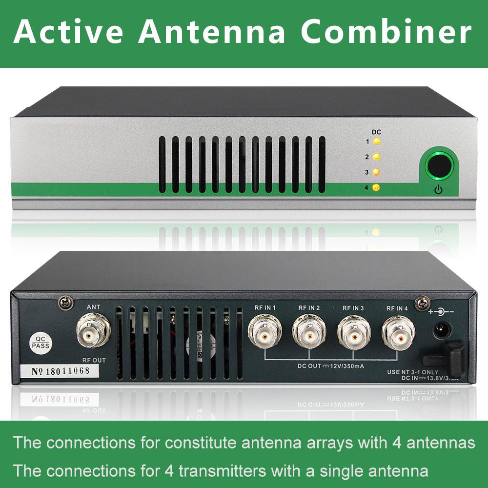 AC3 AC8 Active Combineur D'antenne Kit UHF 470-900 mhz antenne multiplexeurs splitter pour pour In-Ear Système Émetteurs