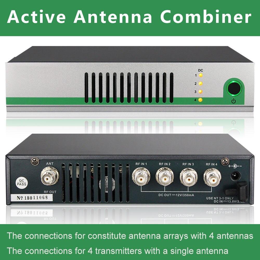 AC3 AC8 Attivo Antenna Combinatore Kit UHF 470-900 mhz antenna combinatori splitter per per In-Ear Sistema di Monitoraggio Trasmettitori