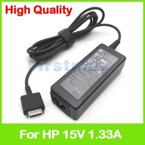 15 V 1.33A 20 W Laptop AC carregador adaptador de alimentação para HP SlateBook x2 10-h000 10-h000sa 10-h010nr PA-1200-21HB HSTNN-LA34