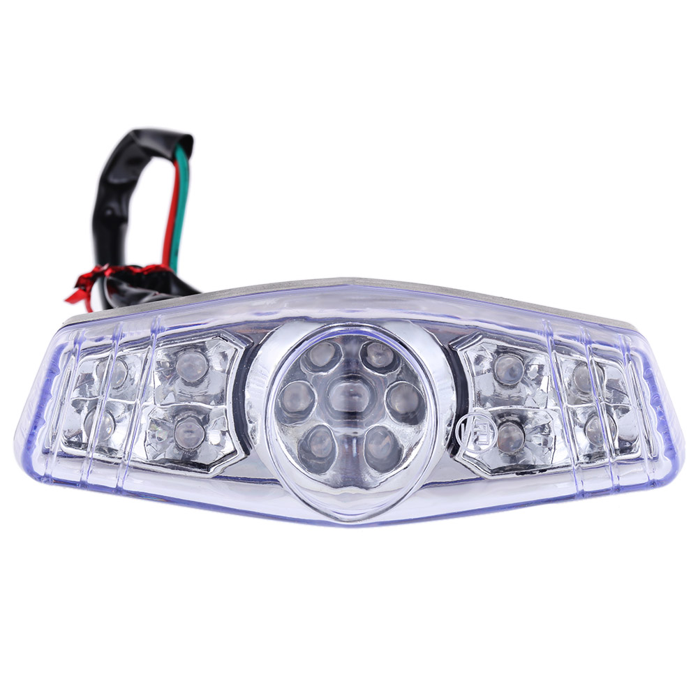 15 LEDs 12V 2W Motorcycle Taillight Brake Light Traffic Lamp LED Taillight light source