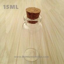 100*15 МЛ пробка желание бутылка дрейфующих бутылка прозрачный стеклянный флакон духов