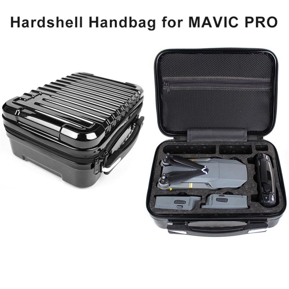 Portable Hardshell Handbag Storage Bag Box Protective carrying Suitcase for DJI MAVIC Pro safety transport travel hardshell drone case for dji goggles vr glasses mavic pro bag for dji spark box storage accessories