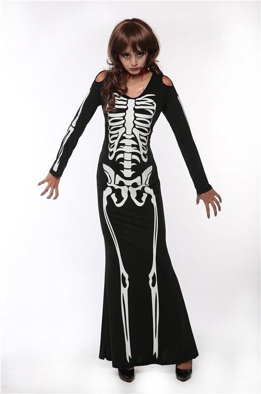 Black Skeleton dress (2)
