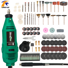 Tungfull Electric Mini Engraver Drilling Machine Hand Drill Electric Engraver Rotary Power Tool Woodworking Carving Cutting hot selling 16mm electric hand drill high power big torsion drilling machine