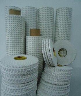 Livraison gratuite 3 M double face PE mousse bande pour voiture décoration/meubles/Construction couleur blanche, 1.0mmT 10mm X 30 M/roll