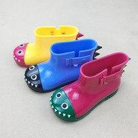Melissa jongens en meisjes dinosaurus shark krokodil regen laarzen gelei schoenen geurige schoenen antislip korte water laarzen