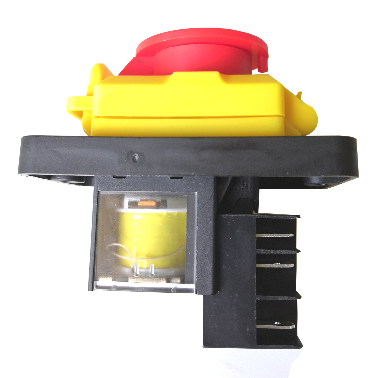 KEDU KJD12-14 250V 6-Pins Start Stop No Volt Release Push Button Switch Common to Woodshop and Metalwork Machines