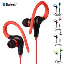 цена на Sport Wireless Bluetooth Earphone Bass Wireless Headphones Hidden Handsfree Earbuds Headset With Mic For IPhone All Smart Phone