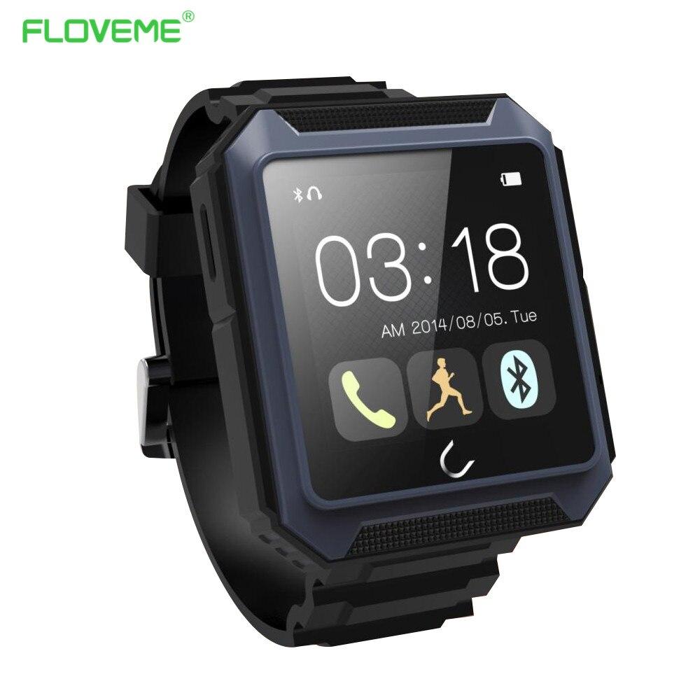 ФОТО FLOVEME Men Women Smart Watch Android IOS For Apple iPhone Samsung Bluetooth IP68 Waterproof Pedometer Camera Sport Bracelet