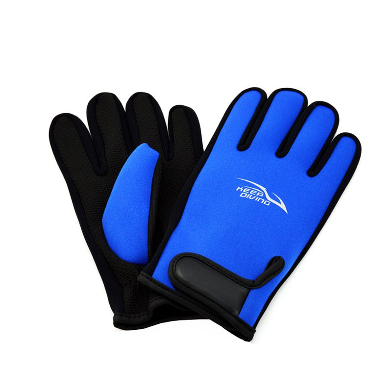 2mm Neoprene Scuba Diving Gloves Snorkeling Submersible Supplies Skiing Surfing Spearfishing Wet Suit New 2017N