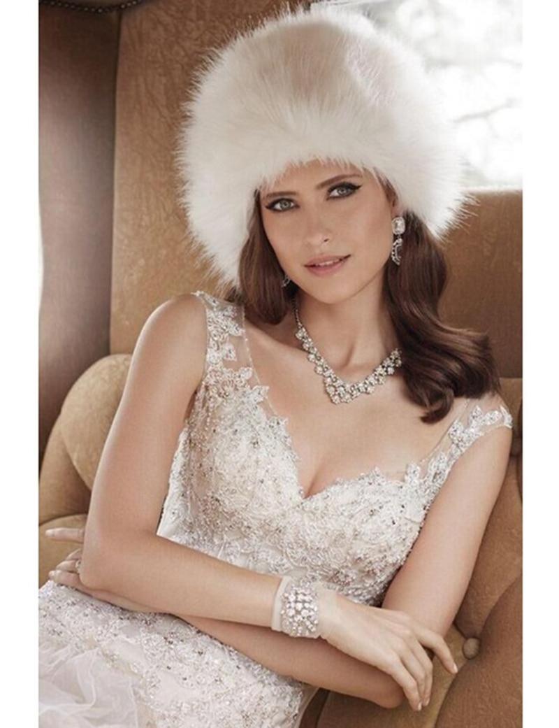 eb815faae417 Купить Женские шляпы новое поступление шапочки 2018 для зимы Белый ...