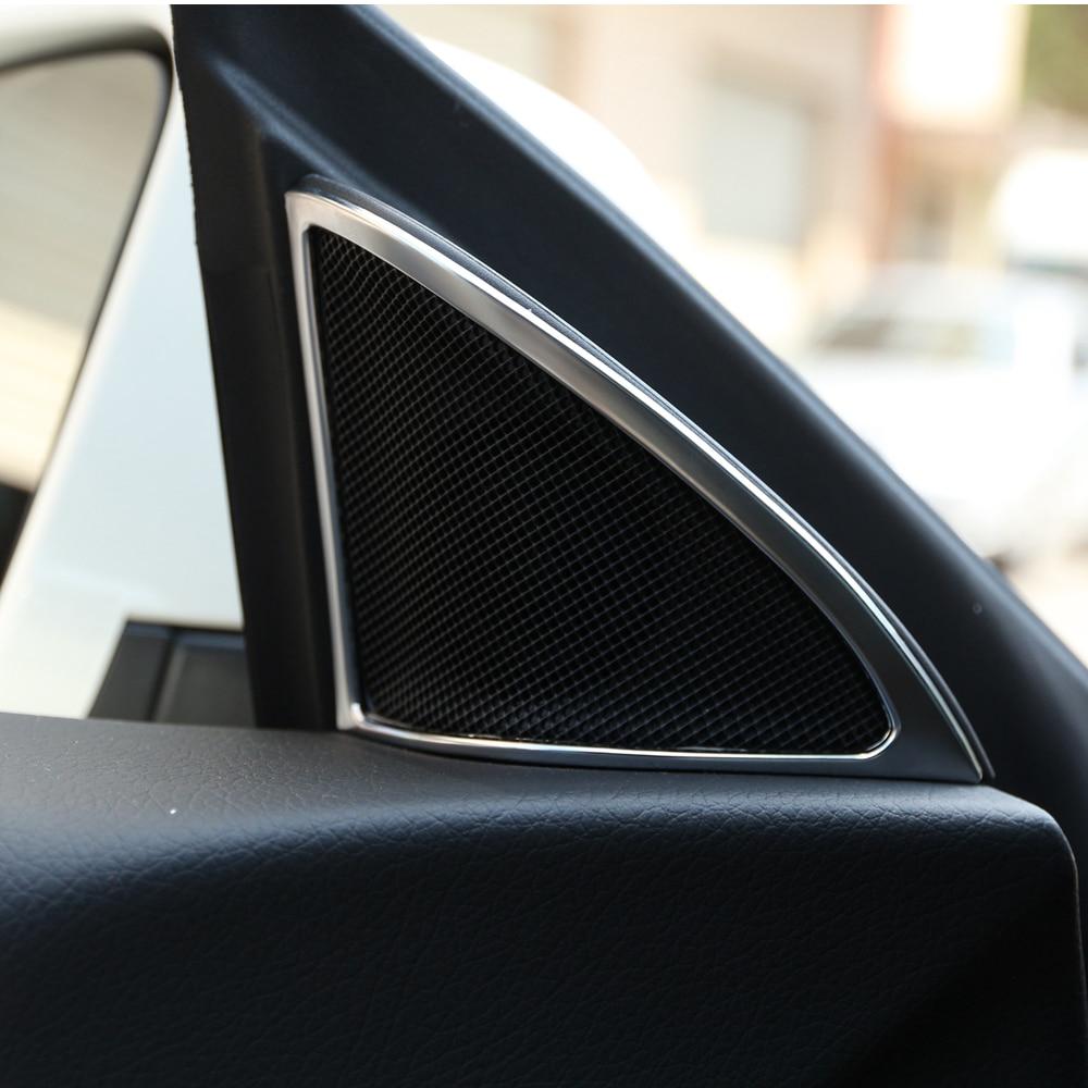 Professional decorative mercedes interior accessories accessories audio speaker frame for mercedes benz cla 200 220 260