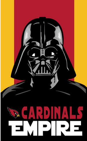 3x5FT Arizona Cardinals flag empire skull NFL banner custom flags 100D free shipping