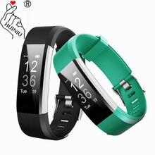 ID115 HR PLUS font b Smart b font Bracelet GPS Fitness Tracker font b Watch b
