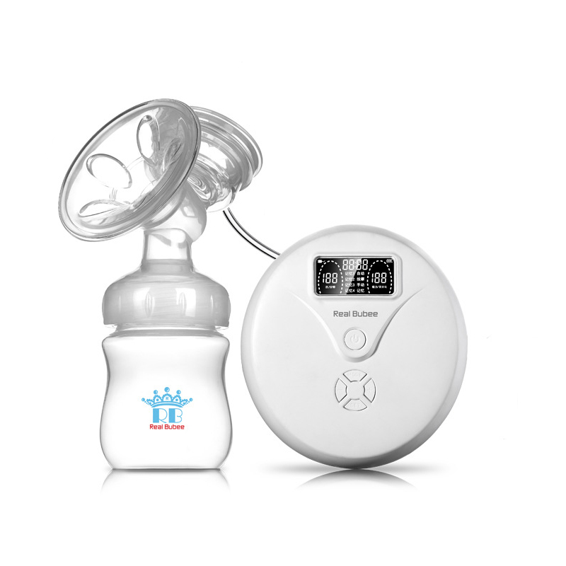 Automatic Electric Breast Pumps BPA Free Massage Memory Mute Intelligent Frequency Conversion Breast Feeding Baby Feeding usb charging intelligent electric breast pumps breast feeding automatic milking postpartum mothers baby breast pump bpa free