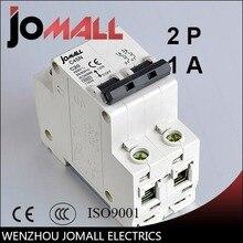 C45N 2 pole 1A/25A/32A/40A 400V~ D type mini circuit breaker mcb Mounting 35mm din rail Breaking Capacity 3KA